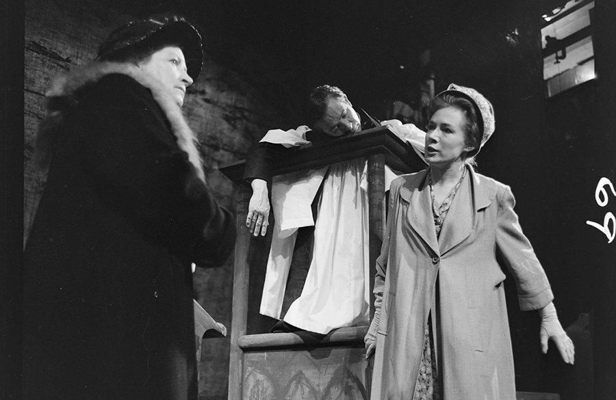 Scene from the 1963 UTRC production of Patrick White's A Cheery Soul
